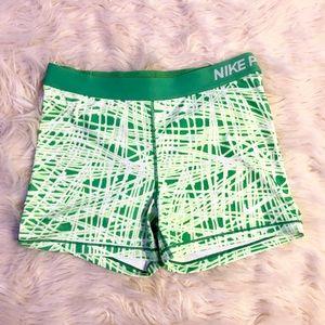 Nike pro biker shorts